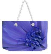 Wild Chicory Macro Weekender Tote Bag