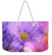 Wild Crazy Daisy Abstract Weekender Tote Bag