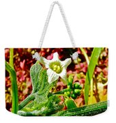 Wild Cucumber In Park Sierra Near Coarsegold-california  Weekender Tote Bag