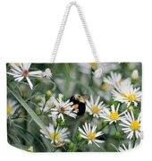 Wild Daisies And The Bumblebee Weekender Tote Bag