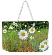 Wild Daisies Weekender Tote Bag
