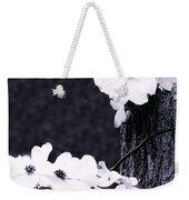 Wild Dogwood Blooms Weekender Tote Bag