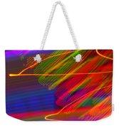 Wild Electric Sky In The Cosmos Weekender Tote Bag