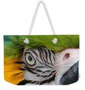 Wild Eyes - Parrot Weekender Tote Bag