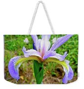 Wild Flag - Iris Versicolor Weekender Tote Bag
