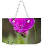 Wild Flower Bloody Geranium Weekender Tote Bag