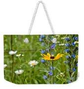 Wild Flower Delight Weekender Tote Bag