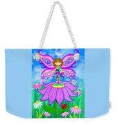Wild Flower Fairy  Weekender Tote Bag