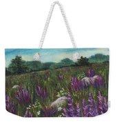 Wild Flower Field Weekender Tote Bag