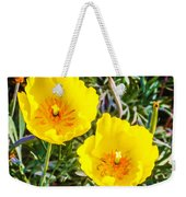 Wild Flowers 2 Weekender Tote Bag