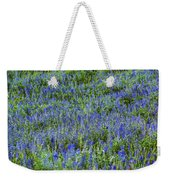 Wild Flowers Blanket Weekender Tote Bag