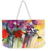 Wild Flowers Bouquets 02 Weekender Tote Bag