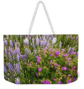 Wild Flowers Display Weekender Tote Bag