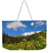 Wild Flowers In Rocky Mountain National Park Weekender Tote Bag