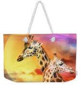 Wild Generations - Giraffes  Weekender Tote Bag