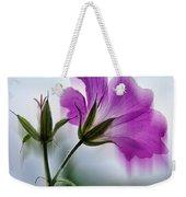 Wild Geranium Abstract Weekender Tote Bag