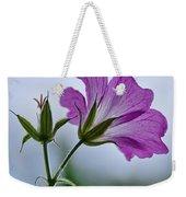 Wild Geraniums Weekender Tote Bag