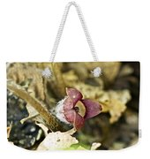 Wild Ginger Wildflower - Asarum Canadense Weekender Tote Bag