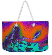 Wild Grasses And Sunset Weekender Tote Bag