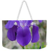 Wild Growing Iris Croatia Weekender Tote Bag