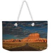 Wild Horse Butte And Road Goblin Valley Utah Weekender Tote Bag