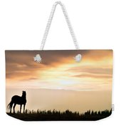 Wild Horse Sunset Weekender Tote Bag