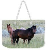 Wild Horses In The Badlands Weekender Tote Bag
