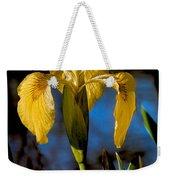 Wild Iris Weekender Tote Bag by Robert Bales
