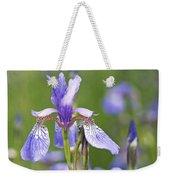 Wild Irises Weekender Tote Bag