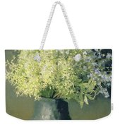 Wild Lilacs And Forget Me Nots Weekender Tote Bag by Isaak Ilyich Levitan