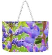Wild Lupine Flowers Weekender Tote Bag