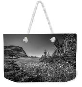 Wild Mountain Flowers Glacier National Park Weekender Tote Bag