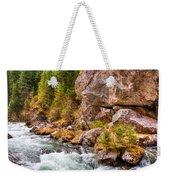 Wild Mountain River Weekender Tote Bag