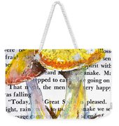 Wild Mushrooms Weekender Tote Bag