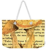 Wild Mushrooms Warm And Subtle Weekender Tote Bag