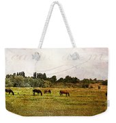 Wild Mustangs Carpe Diem Weekender Tote Bag