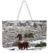 Wild Nevada Mustangs 2 Weekender Tote Bag