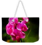 Wild Pea Flower Weekender Tote Bag by Robert Bales