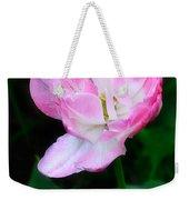 Wild Pink Rose Weekender Tote Bag