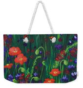 Wild Poppies Weekender Tote Bag