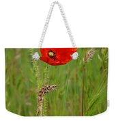 Wild Poppy Weekender Tote Bag
