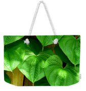 Wild Potato Vine Weekender Tote Bag