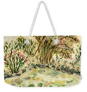 Wild Rhododendrons Near The River Weekender Tote Bag