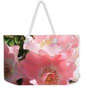 Wild Roses Weekender Tote Bag
