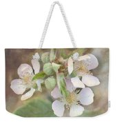Wild Roses - Digital Paint Weekender Tote Bag