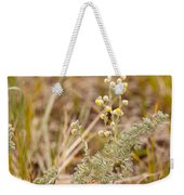Wild Sage Wormwood Artemisia Figida Yellow Flower Weekender Tote Bag
