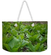 Wild Skunk Cabbage Weekender Tote Bag