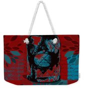 Wild Still Life - 0101a - Red Weekender Tote Bag