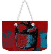 Wild Still Life - 0102b - Red Weekender Tote Bag