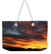 Wild Sunrise Over The Mountains Weekender Tote Bag